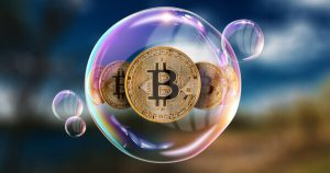 is bitcoin price a bubble now