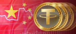Tether in China