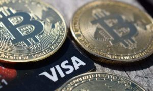 Cryptocurrency transactions by Visa