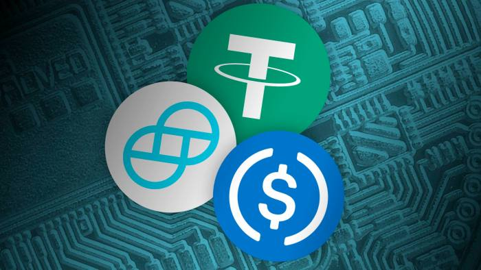 stablecoin price